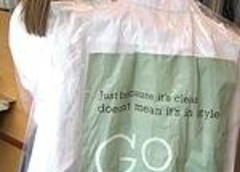 Dry Cleaning Bag Advertising
