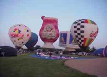 Hot Air Balloon Ads