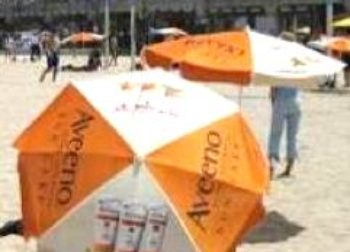 Beach Umbrella Advertising