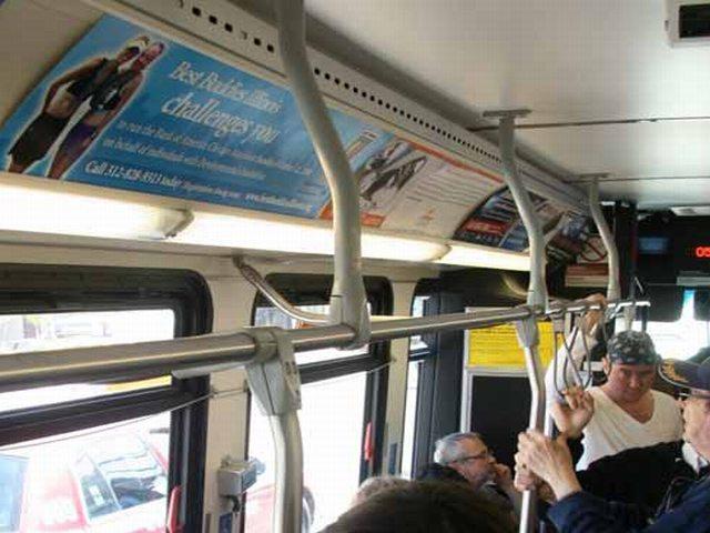 Interior Bus Advertising Transit Advertising Matrix