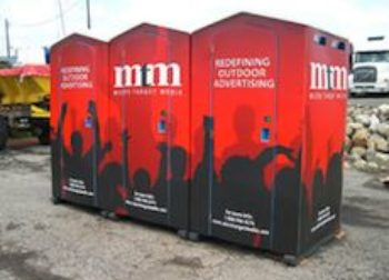 Portable Toilet Advertising