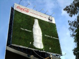 Environmental Marketing Coca Cola Billboard