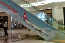 Advertising Fail - Escalator Wrap