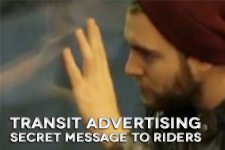 New Transit Advertising Sends Secret Audio Messages to Passengers