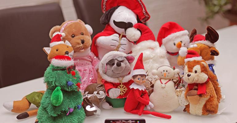 Tiny Crim's First Christmas